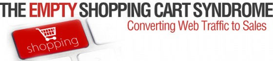 Empty shopping cart-banner