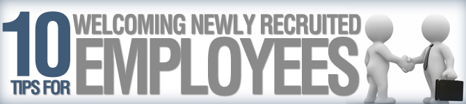 10 tips for welcoming newly recruited employees thecheapjerseys