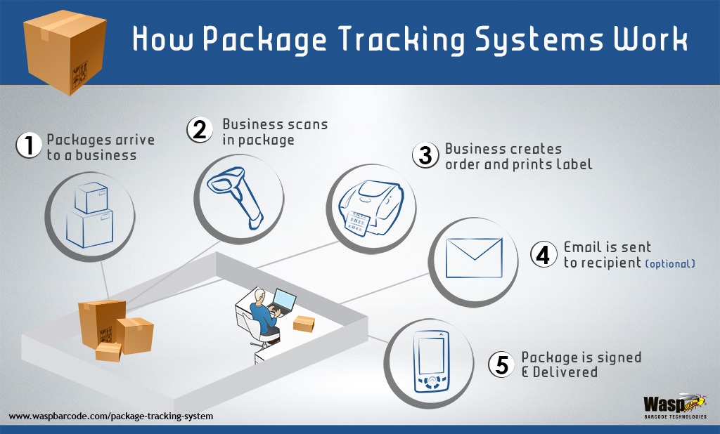 How Package Tracking Systems Work Infographic2 Wasp Buzz