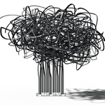 Creative Barcode Tree