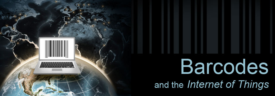 barcodes internet of things banner