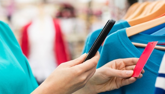 internet of things smartphone shopping