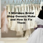 The range of wedding dresses on hangers and on a mannequin in the showroom
